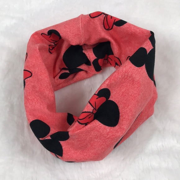Other - Pink Mickey and Minnie Mouse Infinity Scarf